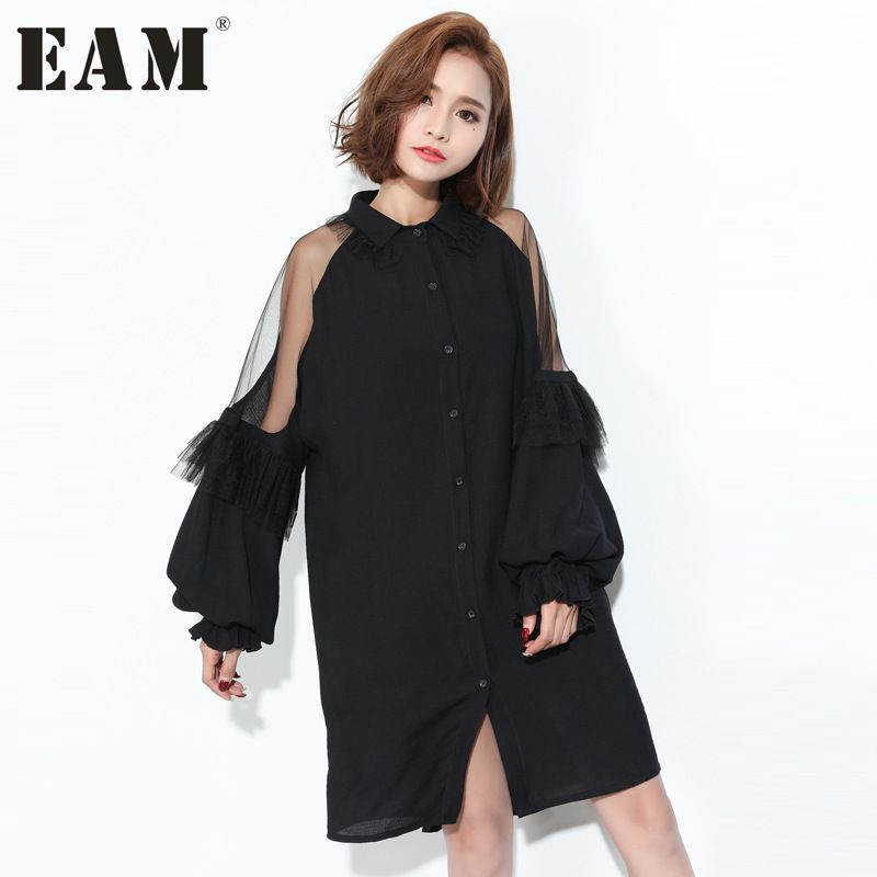 Free Shipping  Buy Best  EAM  Spring Summer Fashion New Black Green ... 439bc1e82afe
