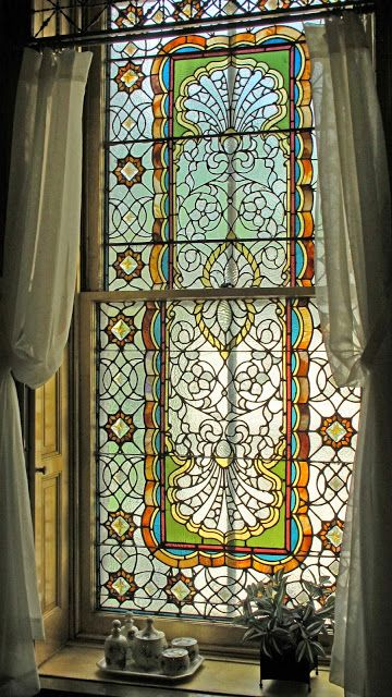bathroom stained glass fantasies for woody pinterest vitraux victorien et verre. Black Bedroom Furniture Sets. Home Design Ideas