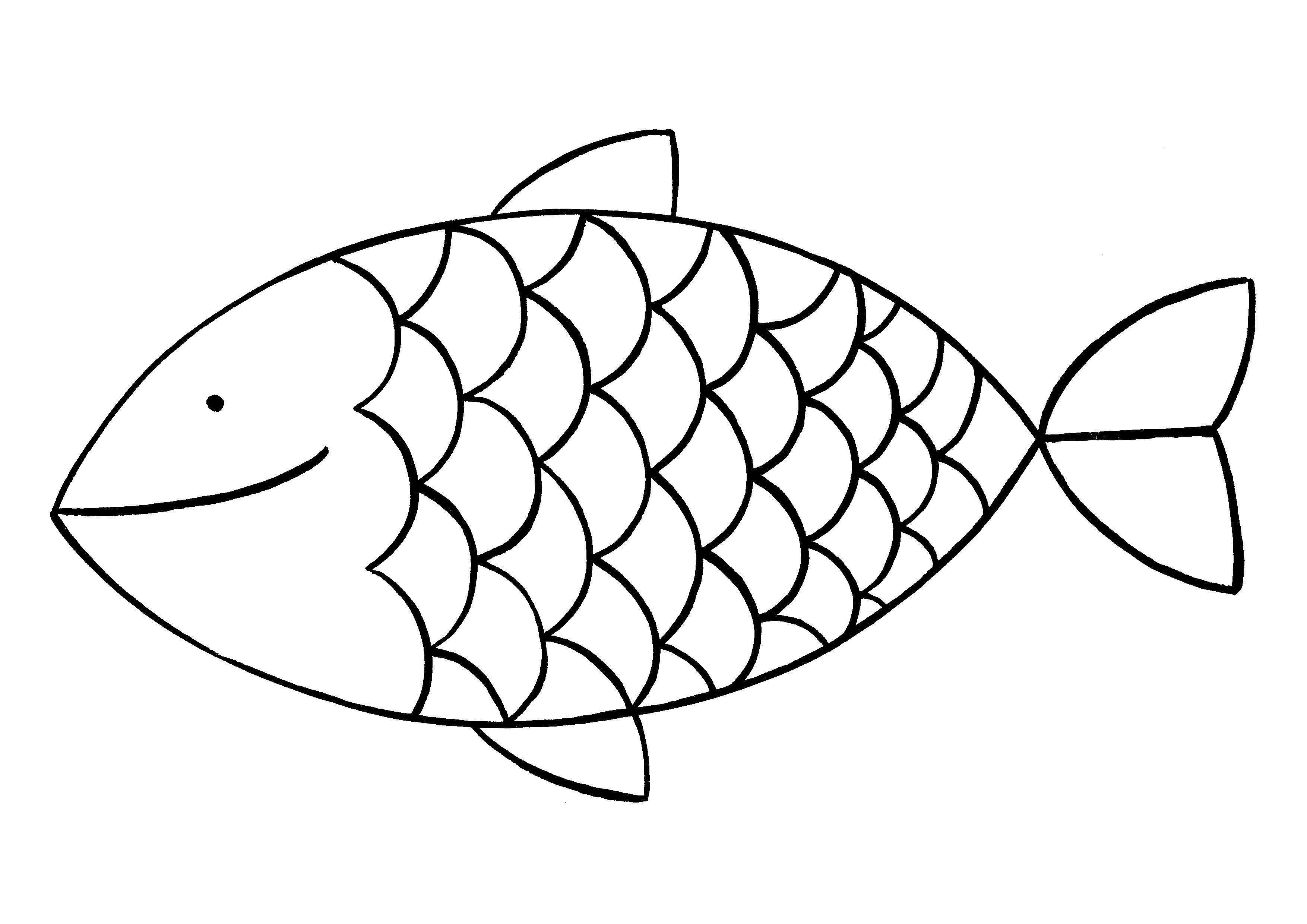 unique fische vorlagen färbung malvorlagen