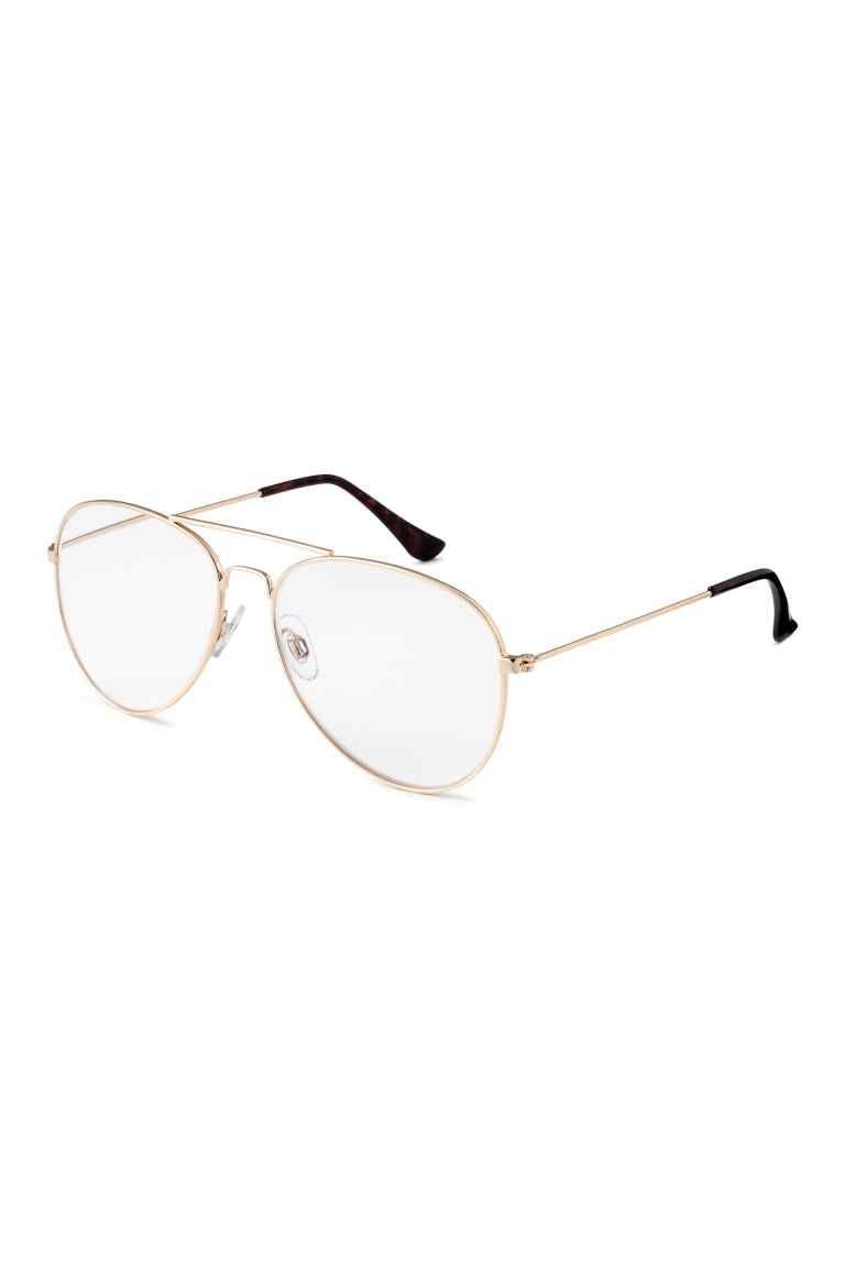 6b3f2000be Gafas para leer: Gafas para leer modelo aviador con montura de metal. Gafas  Para