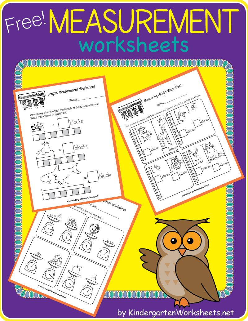 Kindergarten Measurement Worksheets Measurement Kindergarten Measurement Worksheets Kindergarten Math Worksheets Free [ 1035 x 800 Pixel ]
