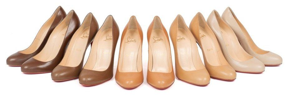 Louboutin Introduces New Shades of Nude Pumps - Christian