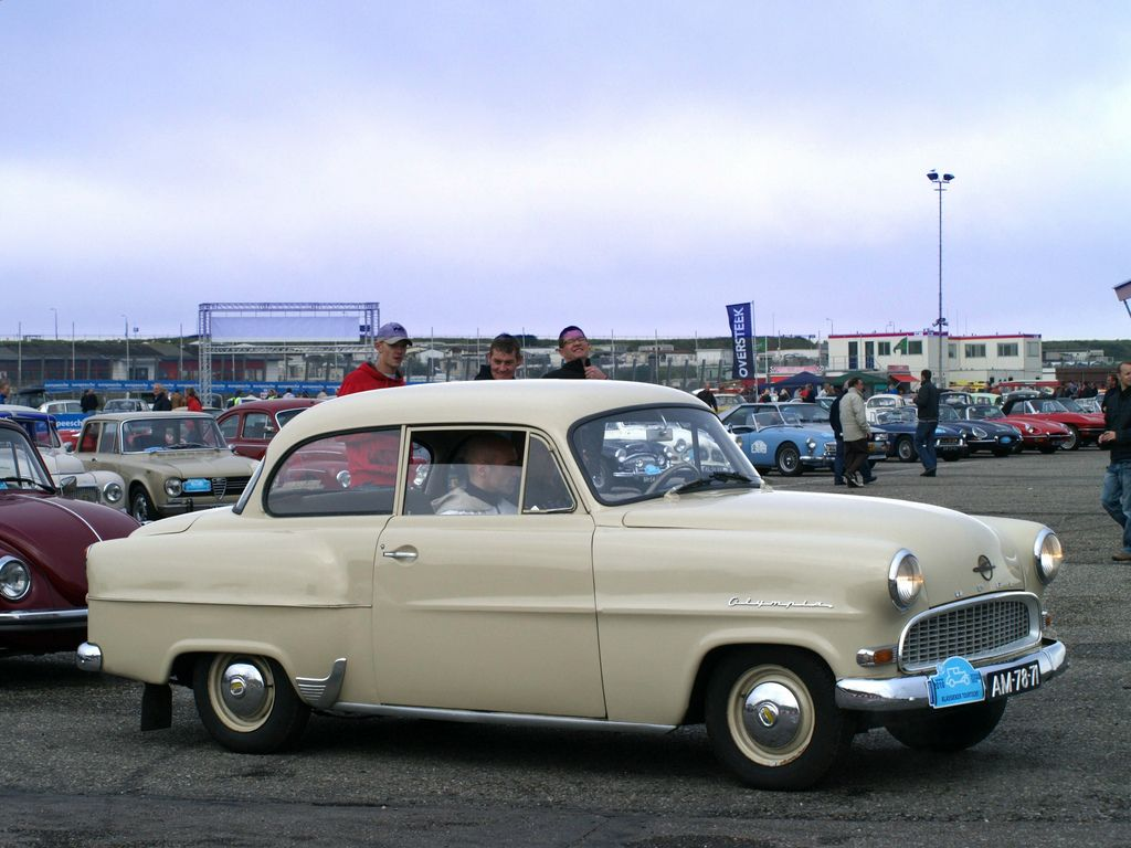 1955 Opel Olympia Rekord - Information and photos - MOMENTcar