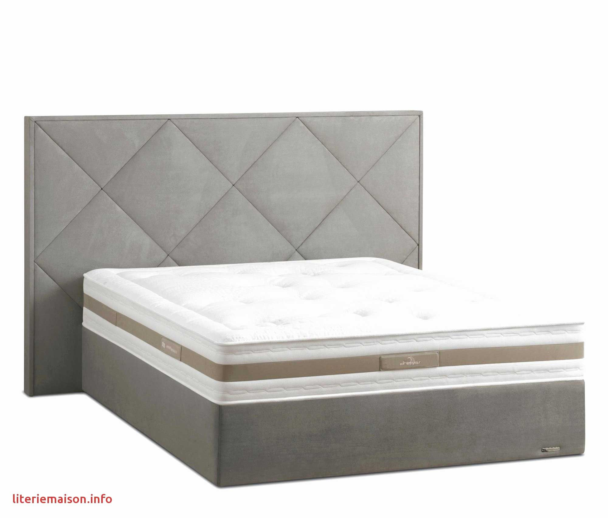 Lit Bois 160 215 200 Frais Lit Bois 160c297200 Unique Lit 2 Places Blanc Conforama Lit Mezza In 2020 Furniture Mattress Bed