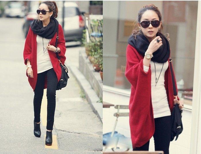 Long Cardigan Dolman Sleeve Sweater Coat | Shop | Pinterest ...