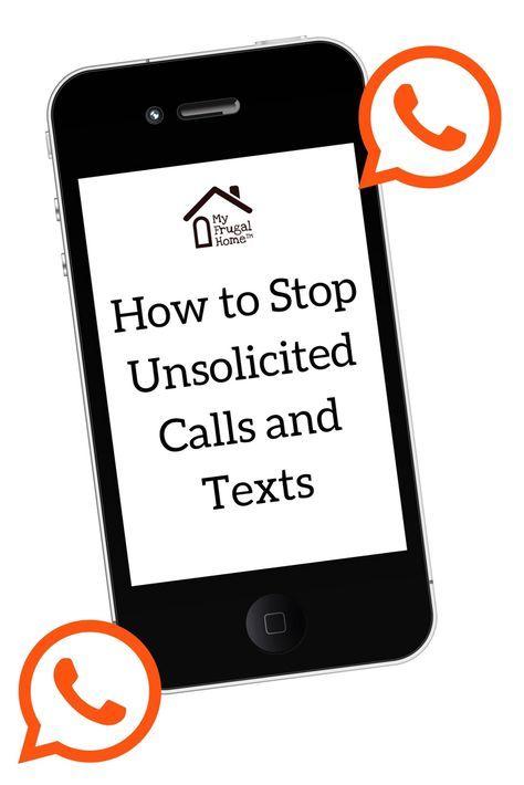 how do i stop telemarketing texts