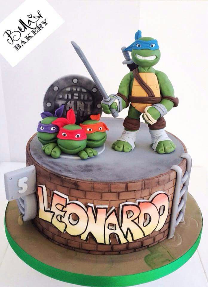 Torta Tartarughe ninja turtles cake