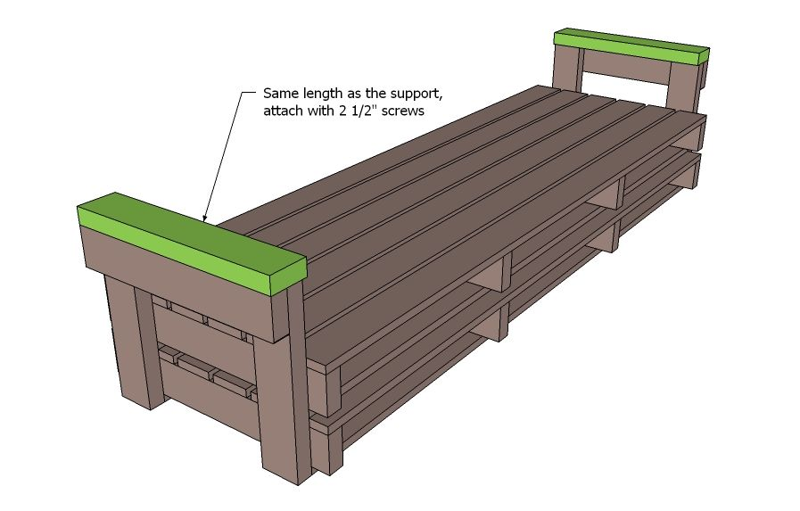 Pallet furniture free and easy diy project and furniture plans useful trash diy pallet - Divano pallet istruzioni ...