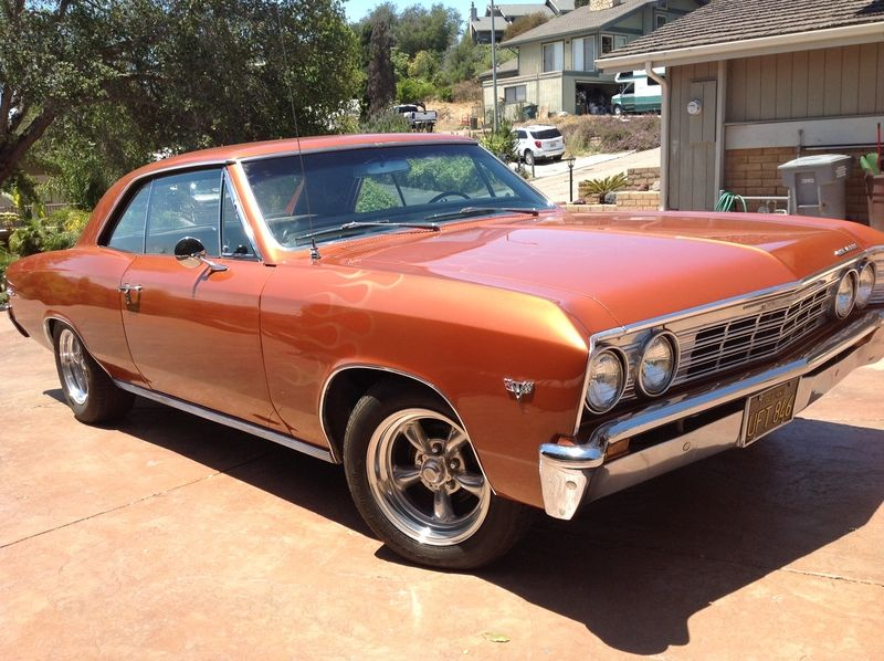 1967 Chevrolet Chevelle Malibu for sale by Owner Santa
