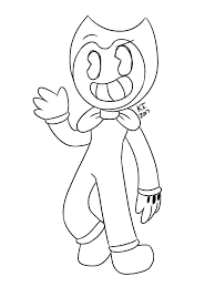 Bendy Coloring Pictures Google Search Monster Coloring Pages Star Coloring Pages Love Coloring Pages