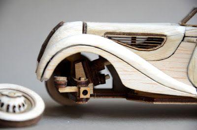 Balsa Manufaktur Bmw 327 Roadster 1939 Wooden Bmw 327 Roadster