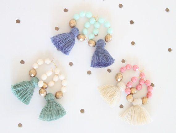 """10pcs Cotton Mini Tassels Statement Tassel For Jewelry Making Earrings 1/"""" 25mm"""
