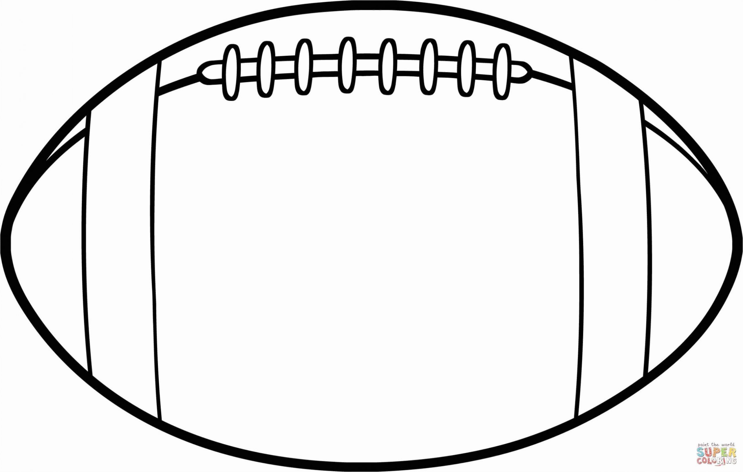 Printable Sport Coloring Sheets New Eagles Football Coloring Pages Football Coloring Pages Football Template American Football