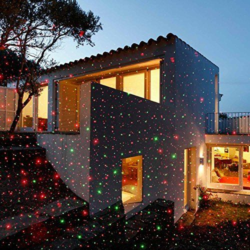 LUCKLED MagicPrime Wireless Control Laser Christmas Lights, Star