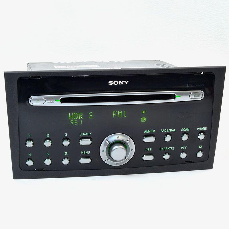 ein sehr sch nes ford sony radio mit 6 x cd wechsler. Black Bedroom Furniture Sets. Home Design Ideas