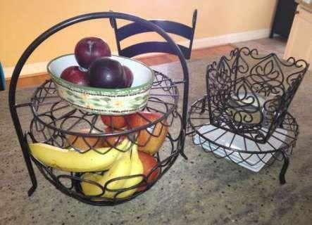 19 ideas for fruit bowl metal display  - Fruit Frenzy -