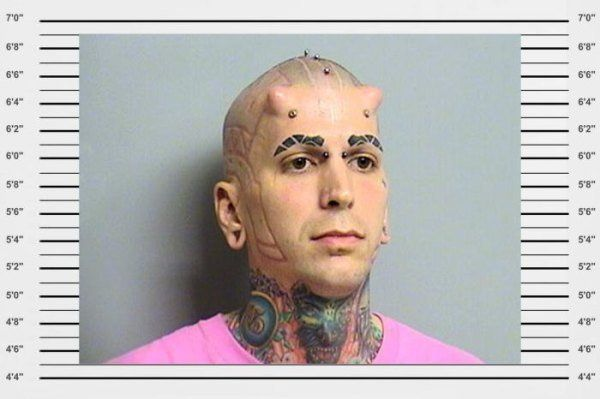 WTF Mugshots That You Won't Be Able To Unsee - Trendzified