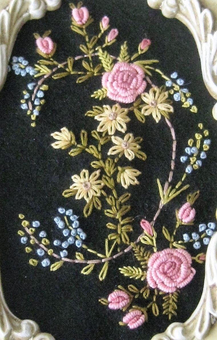 Pin de Arati Ranadive en Embroidery | Pinterest | Bordado, Hilo y ...