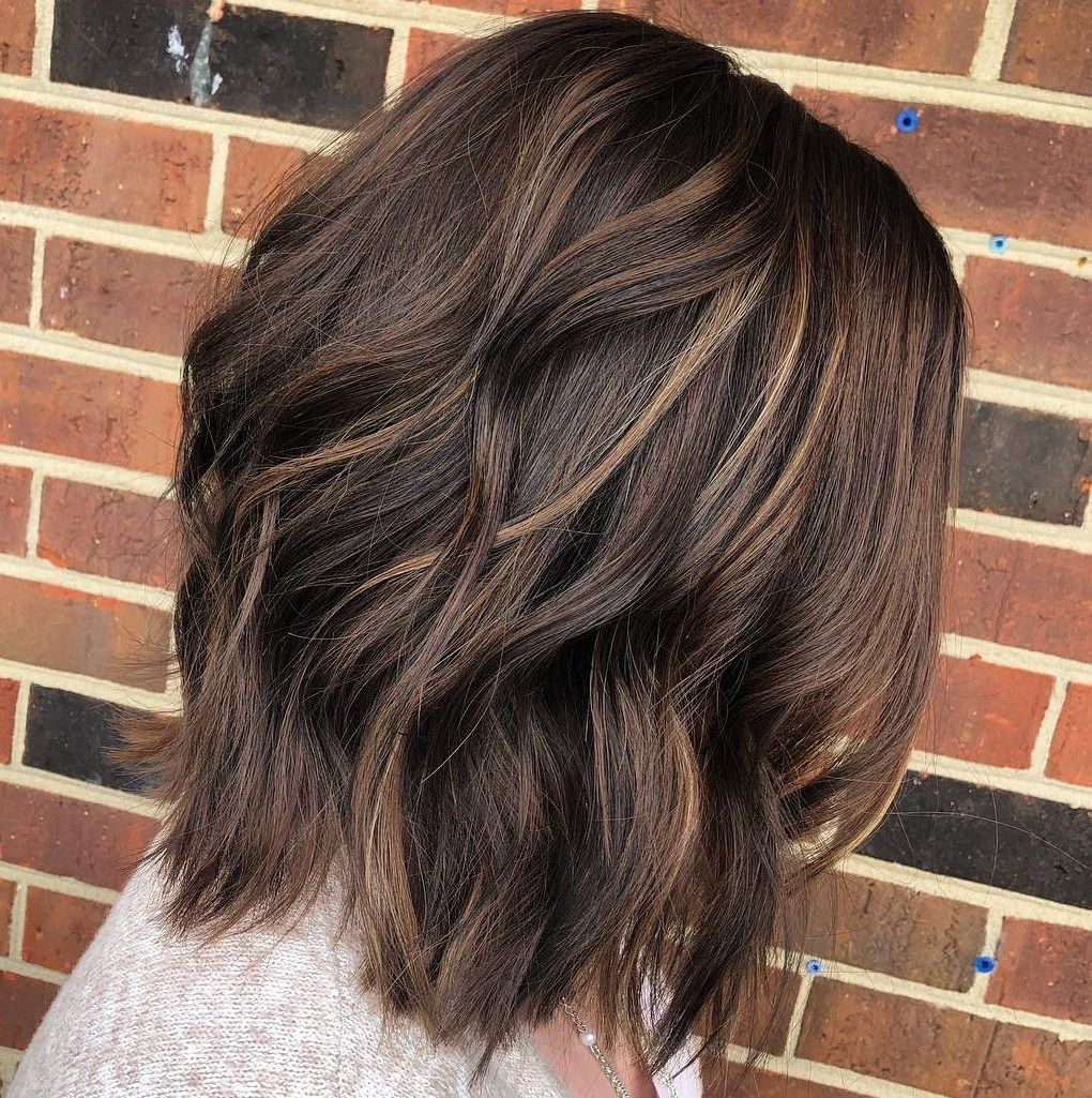 Winter Hair Color Ideas For Brunettes: 60 Chocolate Brown Hair Color Ideas For Brunettes In 2020