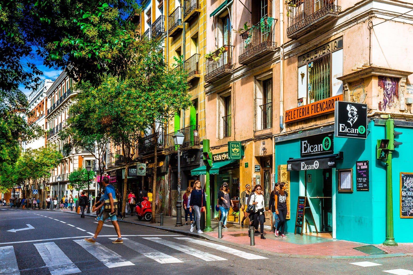 Spain Street Shops