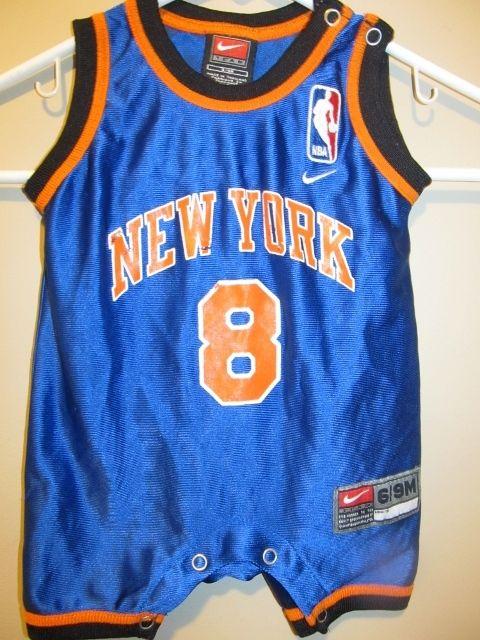 sale retailer 40f0f 1de26 Nike Latrell Sprewell New York Knicks jersey , Infant 6/9 ...