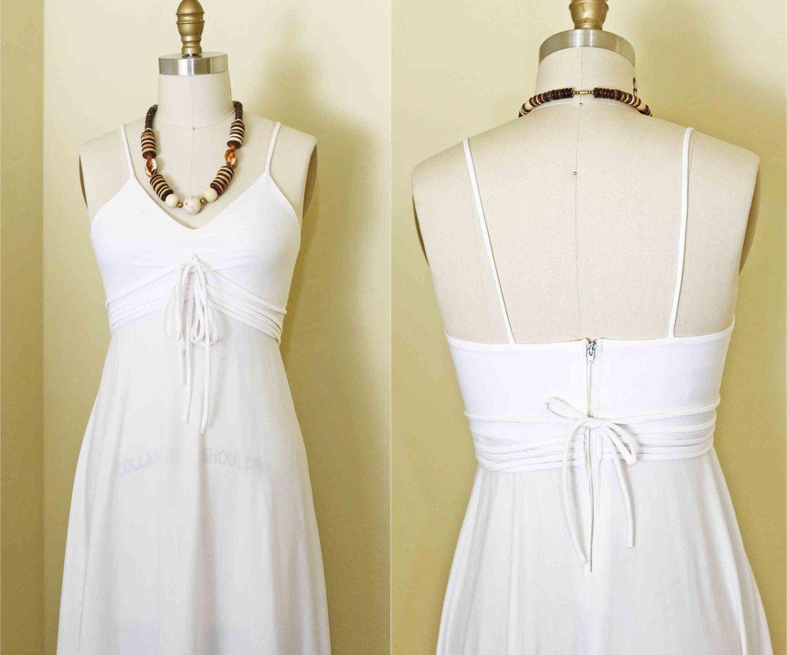 S boho white easy street fashion new york maxi dress bust