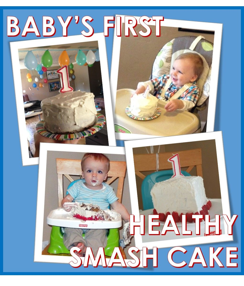 Healthy Smash Cake for Babys First Birthday from bekawhitakercom
