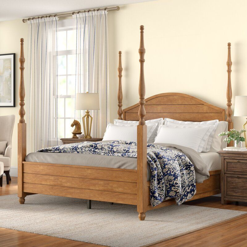 new arrival 7bb5d cf8da Woodside Four Poster Platform Bed | Home sweet home in 2019 ...