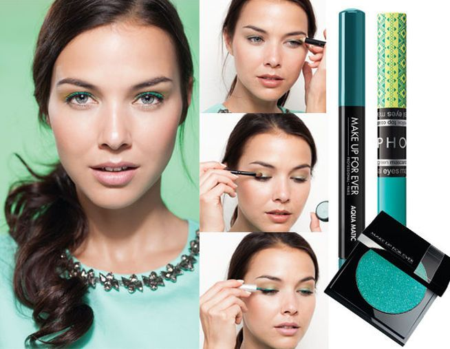 Maquillaje a todo color