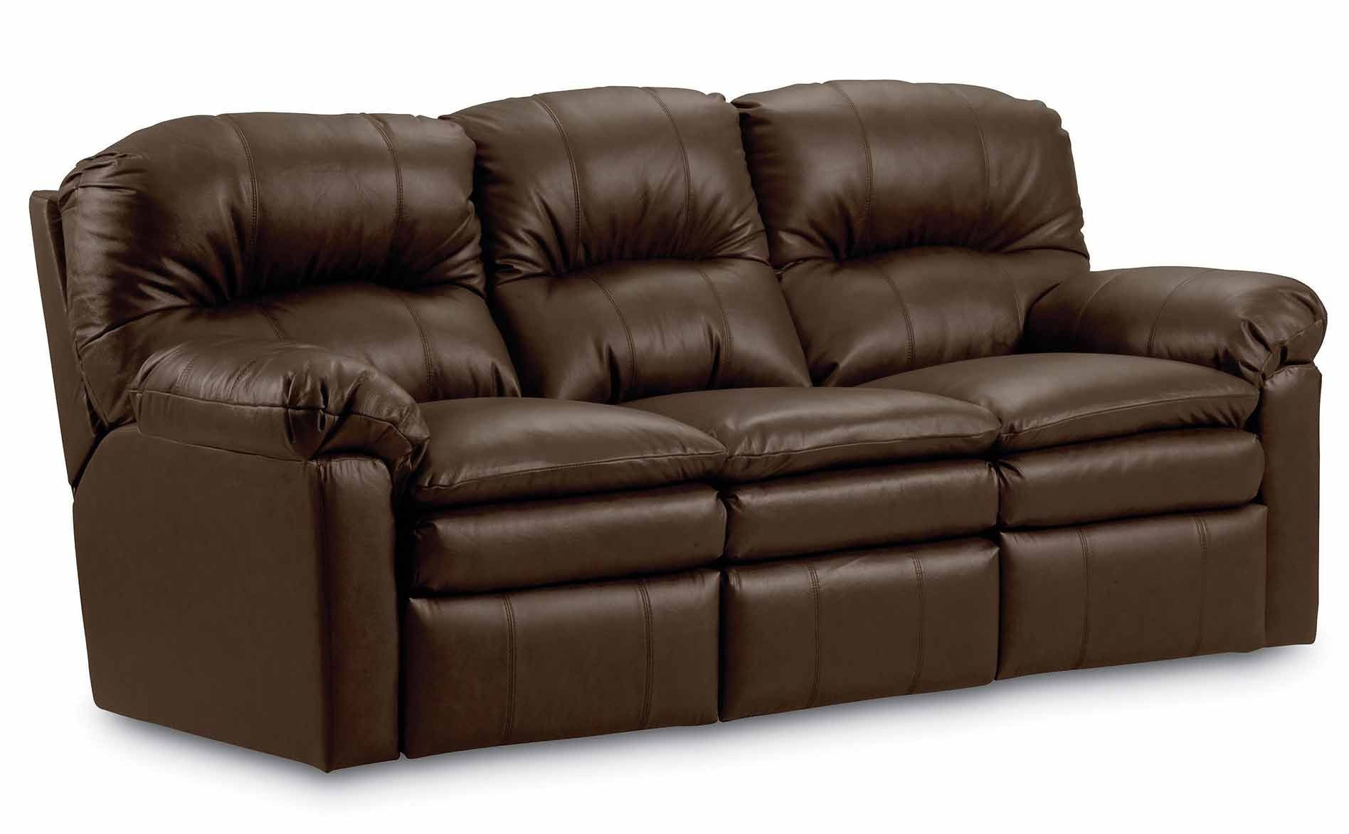 Lane Leather Reclining Sofa Evans Double Reclining Sofa