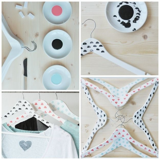 Painted Hangers Hanger Diy Painted Clothes Hangers Hanger