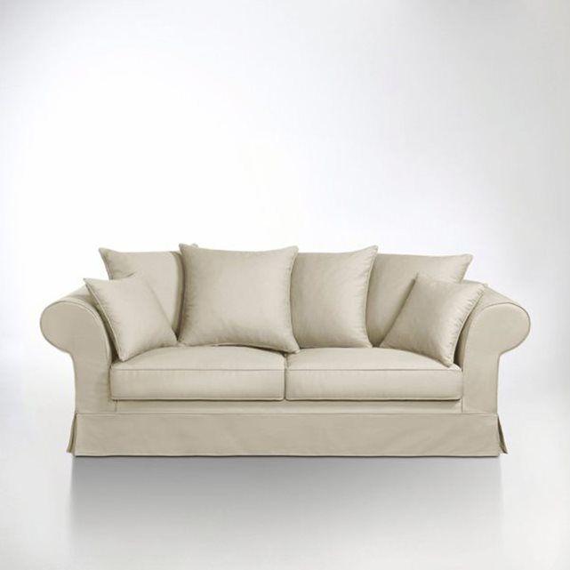 Canapé Convertible Coton, Adelia | Convertible
