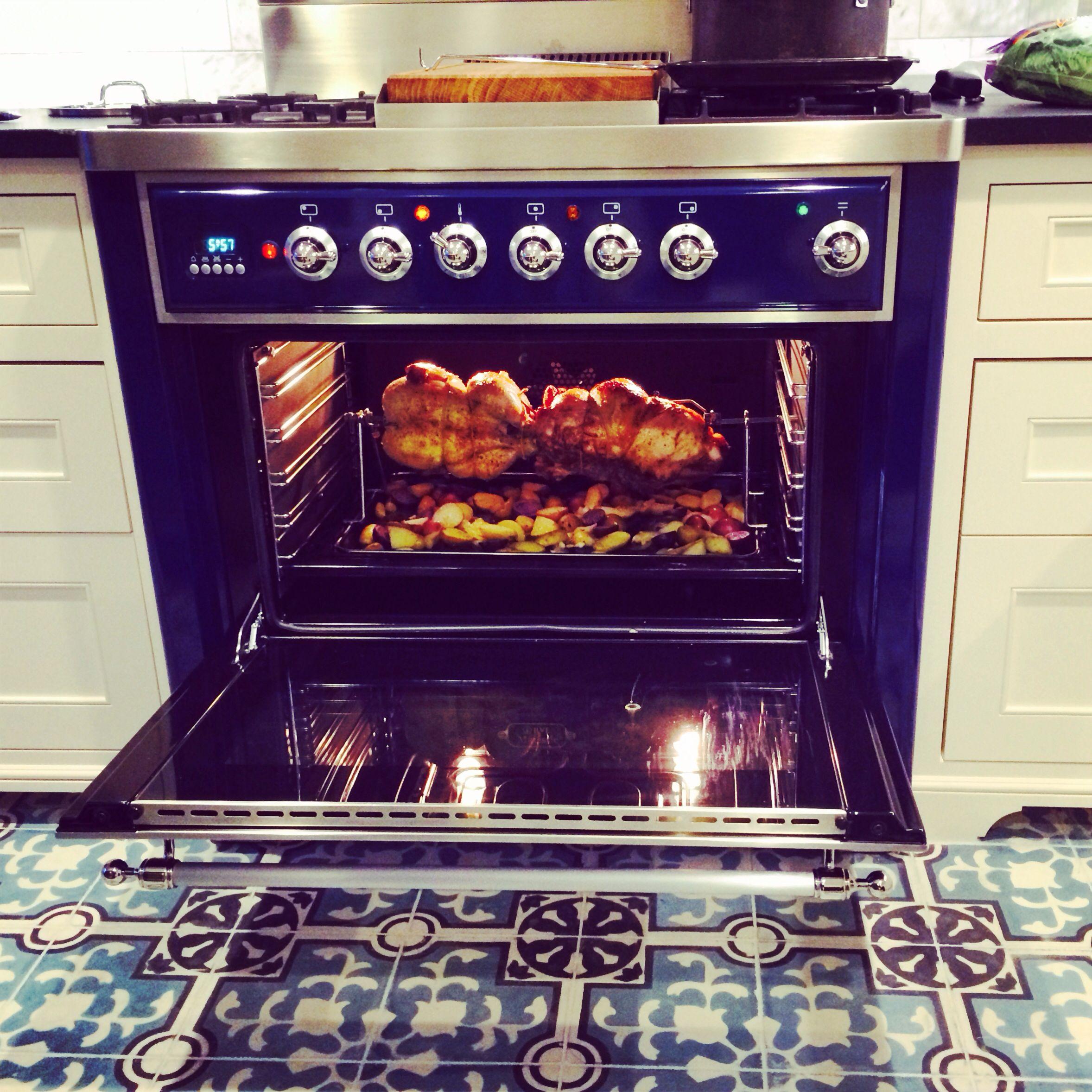 Ilve Range We Love The Rotisserie Real Kitchen Kitchen Redo Ilve