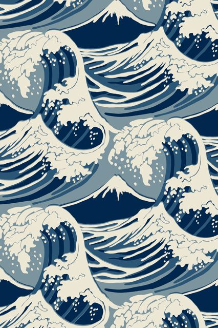 Cole Son Great Wave Wallpaper Ideas Designs Living Room