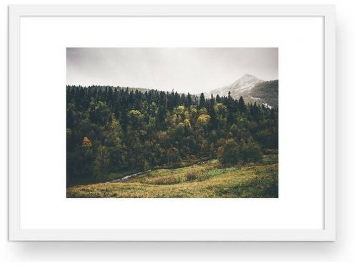 Ausstattung & Funktionen Rahmung / Bespannung: gerahmt,  Material Material: Weiße Holzrahmen,  Optik/Stil Format: DIN A2, Motiv: Premium Poster,