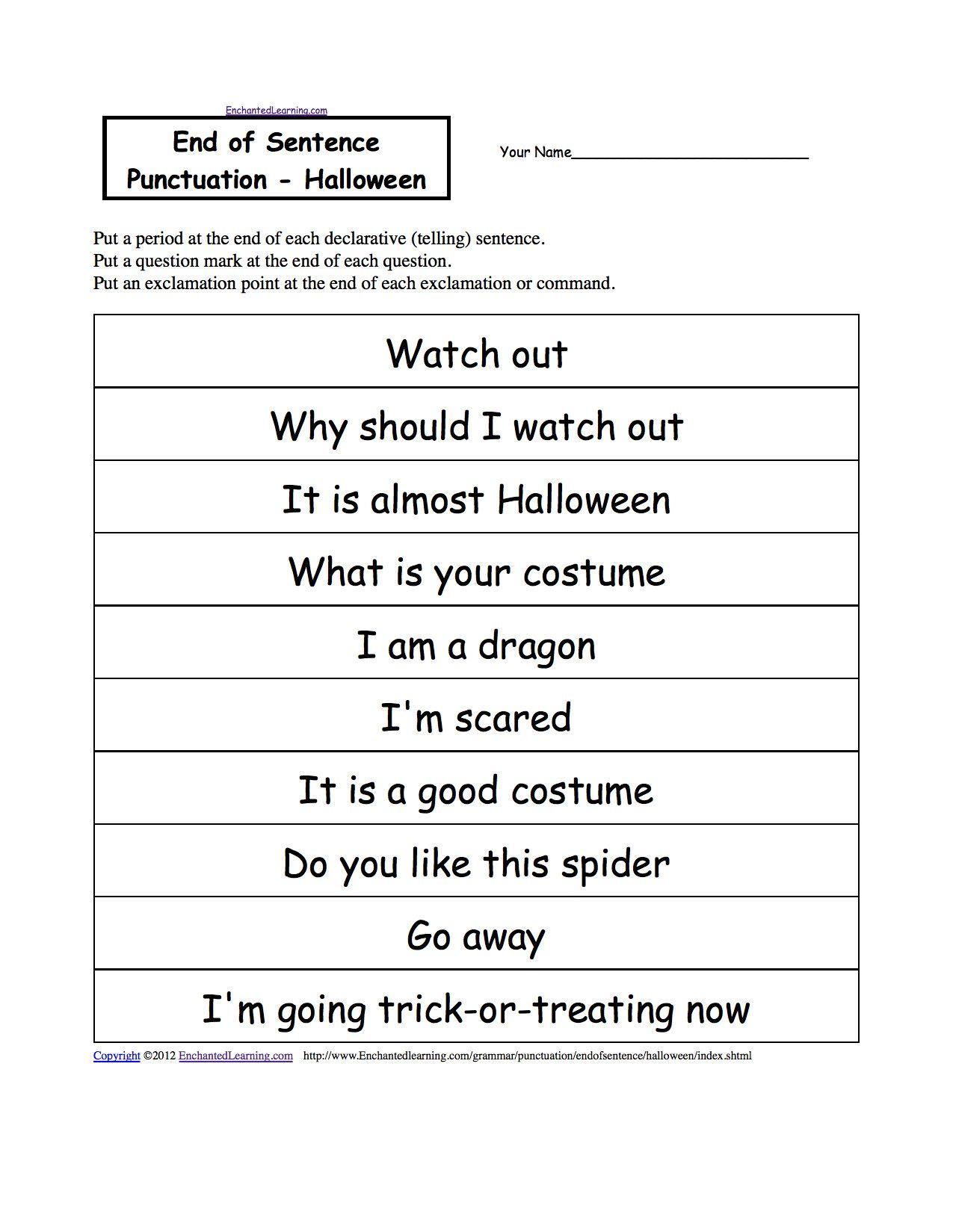 Linearreadable Sentence Worksheets Dengan Gambar