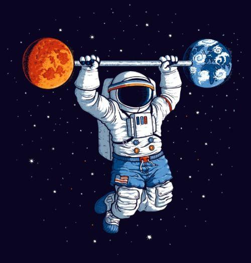 Artagainstsociety Gym Art Astronaut Art Astronaut Wallpaper