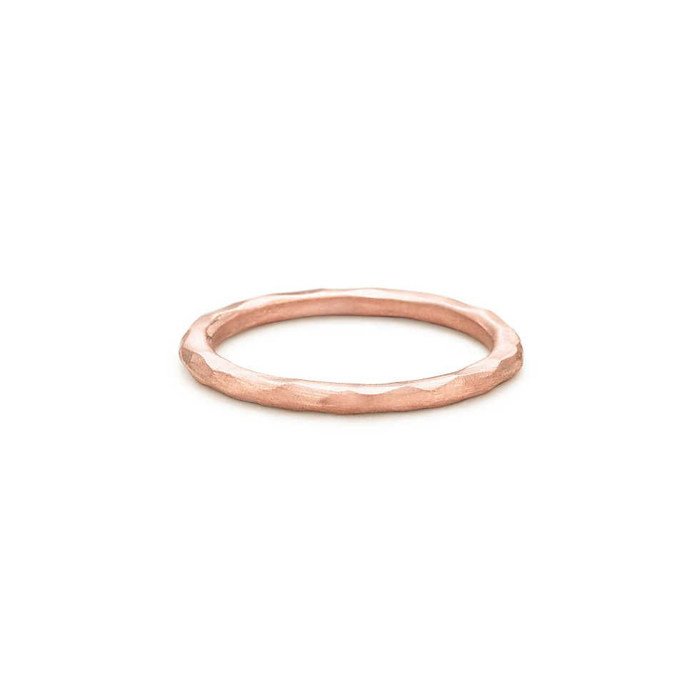 08db4561a Tiffany & Co. - Paloma Picasso® Hammered ring in 18k rose gold. | a ...