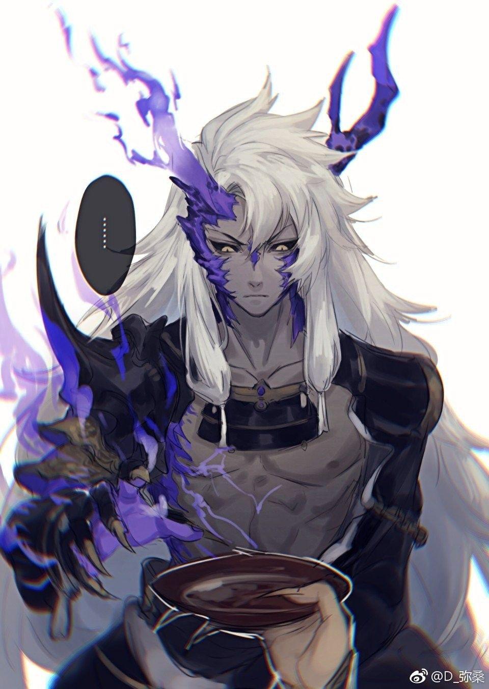 es hermoso Anime demon, Anime, Anime characters