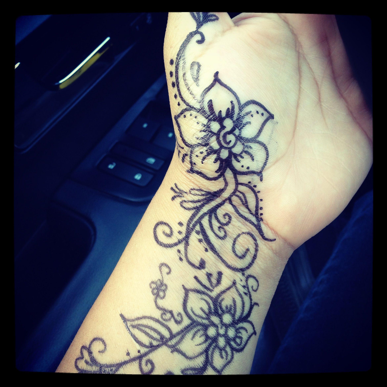 My henna with sharpie