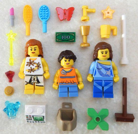 Classic New Minifigures LEGO Duplo lot of 4 boy and girl figures