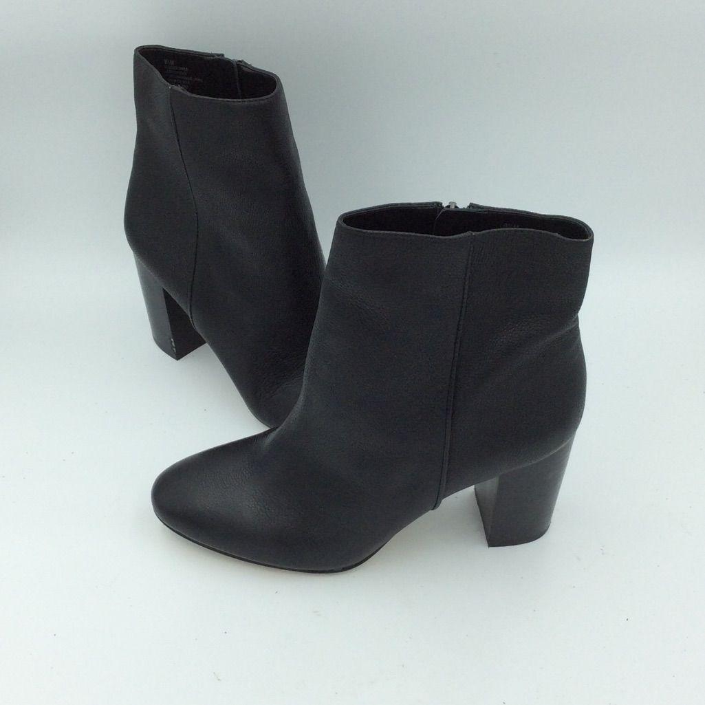 Antonio Melani Black Ankle Boot NWT
