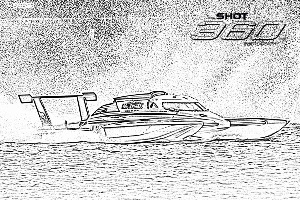 Coloring Pages Of Speed Boats For Kids - Ferrisquinlanjamal