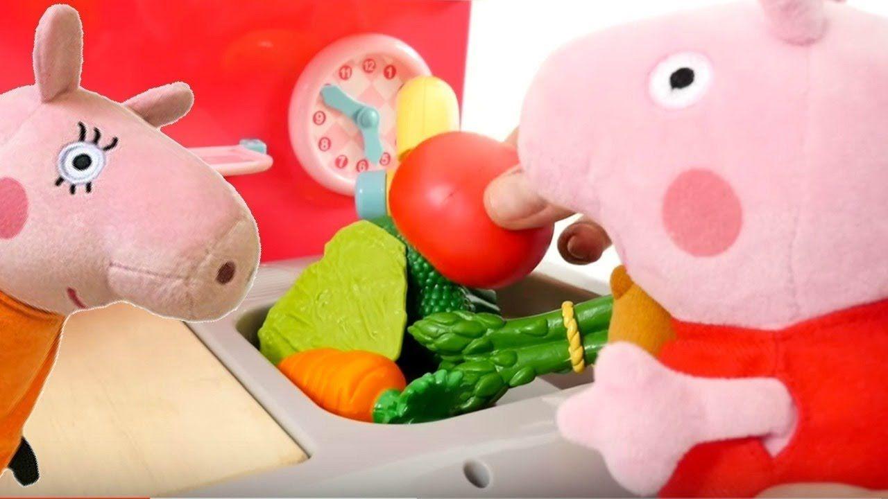 Spielspaß mit Peppa Wutz - Peppa hilft Mama Wutz beim Kochen