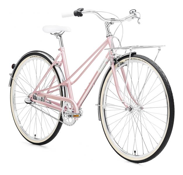 Creme Caferacer Uno 28 Zoll Urbanbike Damen Pearl Pink 2017