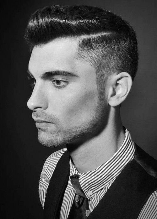 Superb Men Rockabilly Greaser Hairstyles | Awesome Gelled Short Rockabilly  Hairstyles