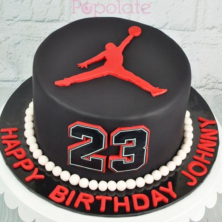 27+ Tolles Bild von Jordan Birthday Cakes Bild