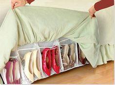 Guardar y organizar zapatos