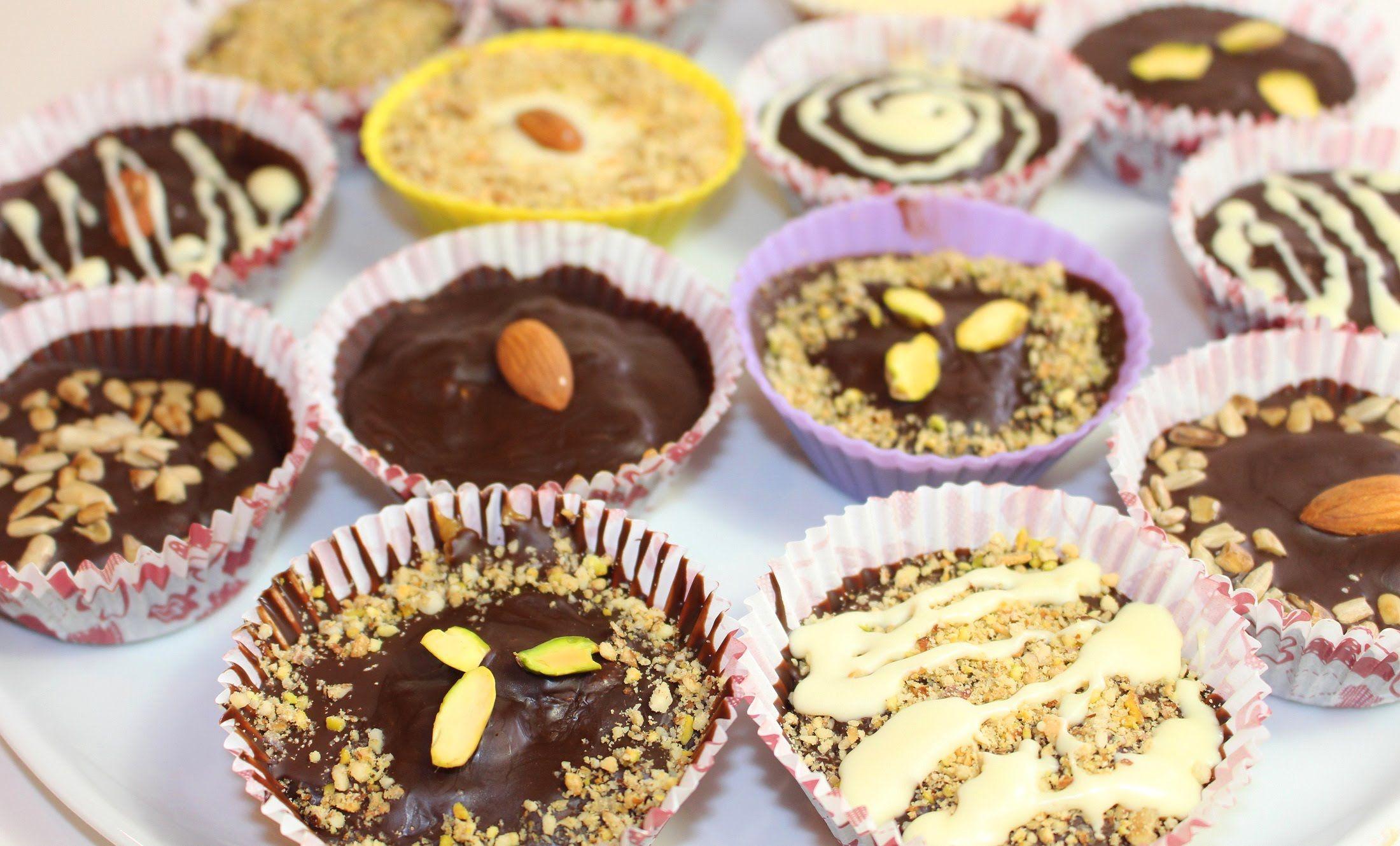 Шоколадные конфеты своими руками рецепты фото 555