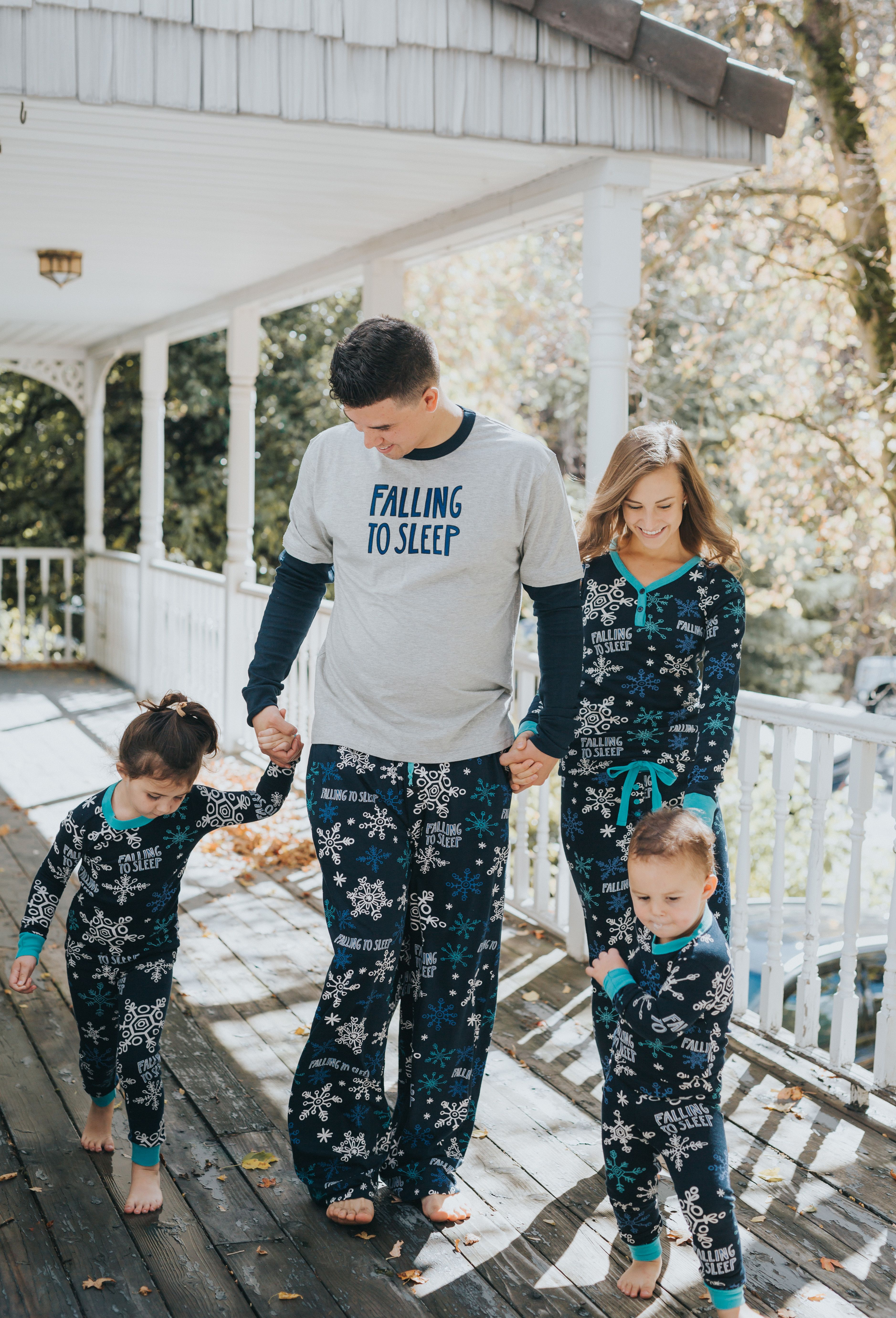Falling to Sleep matching pajamas for the whole family! So cute and comfy. 242afbc22